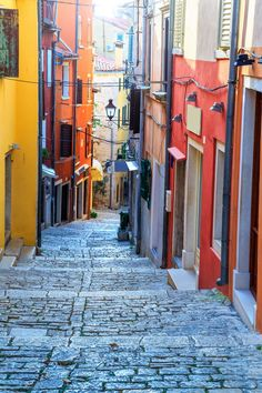 The Old Town in Rovinj in charming Croatia is the perfect weekend getaway