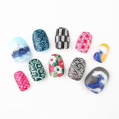 """""""Michi nails it with a new site specializing in nail designs from over 100 people in Japan http://t.co/9OcsQeMRqg"""""""