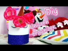 YouTube Diy Unicorn Desk organizer...and Room decor.. Easy to make
