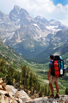Backpacking the Tetons for Beginners