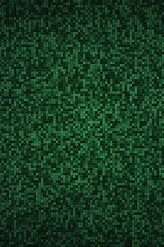 Green Pixels iPhone wallpaper
