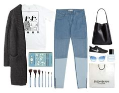 """/i read his lips and i see glory/"" by phantabulous ❤ liked on Polyvore featuring Marc Jacobs, 3.1 Phillip Lim, Wildfox, NIKE, Yves Saint Laurent, Reiss and Y's by Yohji Yamamoto"