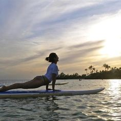 What's SUP, doc? #wecouldn't resist #yoga #SUP #paddleboarding