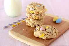 Chocolate Chip and Mini Egg Cookies | 16 Recipies With Cadbury Mini Eggs Just In Time For Spring