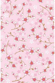 Show details for Cherry Blossom wallpaper pink