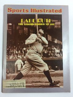 Sports Illustrated Magazine March 18 1974 Babe Ruth The Legend Comes To Life  | eBay