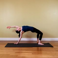 Yoga Poster For Strong Runner Legs