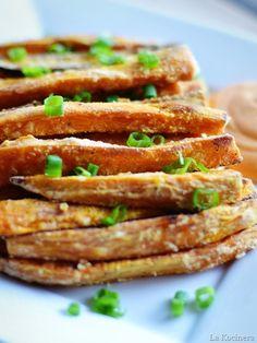 Crispy Sweet Potato Oven Fries.