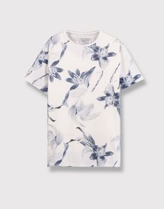 FLORAL ALL OVER PRINT T-SHIRT - T-SHIRTS AND POLO SHIRTS - MAN - PULL&BEAR Albania
