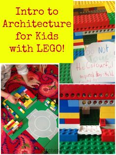A fun way to introduce kids to architecture - using LEGO