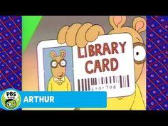 ARTHUR: Library Card Song! - YouTube