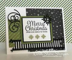 Weihnachtskarte basteln und stempeln mit Stampinup Produkten aus dem Herbst-Winterkatalog 2017-2018