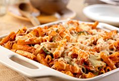 If you're looking for a baked ziti recipe that's better than the rest, try this one...it gets unique and delicious flavor from sliced zucchini, and the blend of three cheeses makes it even better.