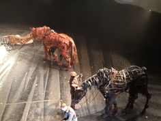 The animatronics in War Horse were amazing.