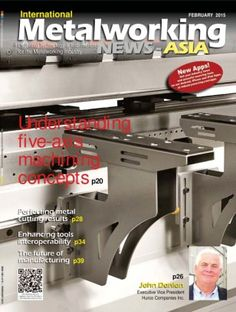 International Metalworking News for Asia February 2015 Magazine