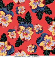 pansies flower pattern - bu vektörü Shutterstock'ta satın alın ve başka görseller bulun. Pansies, Flower Patterns, Abstract, Artwork, Flowers, Image, Summary, Doodle Flowers, Work Of Art