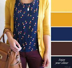 New Fashion Design Patterns Colour Ideas Colour Combinations Fashion, Color Combinations For Clothes, Fashion Colours, Colorful Fashion, Color Combos, Look Fashion, Fashion Outfits, Fashion Design, 2000s Fashion