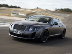Bentley Continental Supersport - Its capable of running on both petrol and biofuel, its 6.0 litre W12 engine was rated 630 PS (463 kW; 621 bhp) at 6,000 rpm and 800 N·m (590 lbf·ft) at 1,700-5,600 rpm. The car has 0 to 100 kilometres per hour (0.0 to 62.1 mph) acceleration of 3.7 seconds, 0 to 160 kilometres per hour (0.0 to 99.4 mph) acceleration of 8.9 seconds, top speed of 329 kilometres per hour (204.4 mph), making it the fastest and the most powerful production Bentley ever.