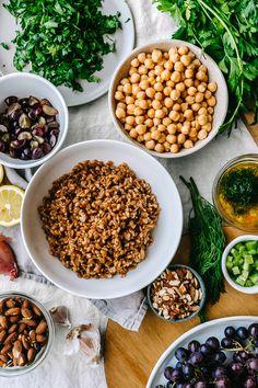 A Summer Speltberry Salad   Faring Well   #vegan #recipes