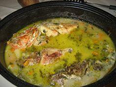 Seafood Soup Recipes, Fish Recipes, Greek Fish, Food Network Recipes, Cooking Recipes, The Kitchen Food Network, Fish Soup, Greek Cooking