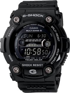 CASIO GW7900B-1 G-SHOCK G-RESCUE MEN'S SHOREMAN SOLAR SPORT WATCH