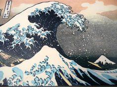 Katsushika Hokusai - PRINT envelopes - GORGEOUS and Vintage
