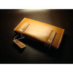 Женский кожаный кошелёк YuT collection Brass leather