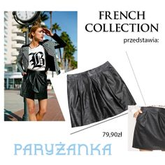 Nasza ażurowa spódnica PARYŻANKA z dziurkowanym dołem. Dla pewnych siebie i zdecydowanych kobiet. #frenchcolletion #woman #elegancewoman #paris #frenchstyle
