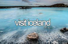 Bucket List: Visit Iceland