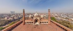 Delhi, India - AirPano.com • 360° Aerial Panorama • 3D Virtual Tours Around the World