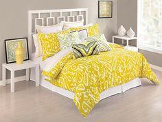Trina Turk Ikat Duvet Set - Twin/Twin X-Long Yellow - Zappos.com Free Shipping BOTH Ways