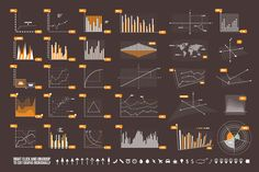 Check out Graphs & Elements by VoxelFlux Design on Creative Market