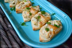 Easy Crab Puffs