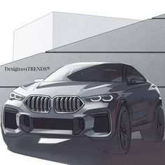 Fantastic The brand new BMW - Design sketches by # . Bmw Sketch, Car Design Sketch, Bmw X6, Concept Bmw, Peugeot, Automobile, New Bmw, Ford, Transportation Design