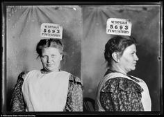 Smart girl:Bertha Liebbeke was a pickpocket back in 1903, one who would faint on men to take their wallets