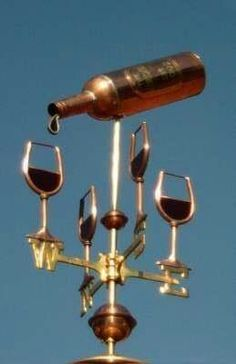 Roof top wine spinner