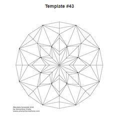 Mandala Templates | Tangle Harmony