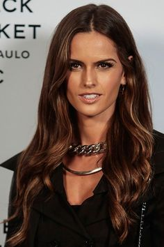 Brunette doesn't have to be boring, here's six ways to liven up your colour : Elle