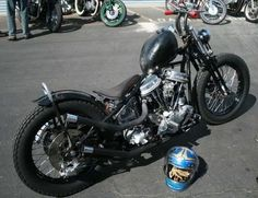 Bobber Inspiration | Harley Panhead | Bobbers and Custom Motorcycles