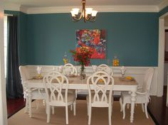 Separate dining rooms for formal meals!