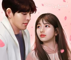 artwork by bae suji - Bing Uncontrollably Fond Kdrama, Miss A Suzy, My Love From The Star, Love Film, Bae Suzy, Kpop Fanart, Cute Korean, Call Her, Korean Drama