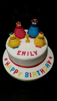 Excellent Twirlywoos cake, Emily is a lucky Twirly fan! First Birthday Cakes, 2nd Birthday, Birthday Parties, Twirlywoos Cake, Celebration Cakes, How To Make Cake, Cake Ideas, First Birthdays, Biscuits