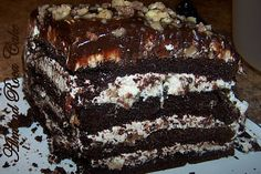 Almond Roca cake! Drool, but do not eat!