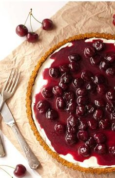 Cherry Delight – The Best Unbaked Cherry Cheesecake Ever | Flavorite