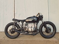 I love an unmodified classic motorcycle. Though a custom built motorcycle from a classic, if done right, still looks nice. This is a 1973 BMW R60 made into a cafe racer.