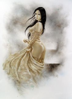 Luis Royo Blue Prince Companion Nude Comic Art
