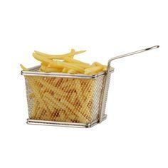 Accessoires de cuisson : Petit Panier à frites en inox