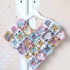 Crochet For Children: Kids Poncho - Free Pattern