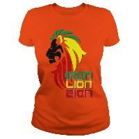 Reggae music Rastafarian Iron Lion Zion 2 side print