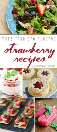 More than 100 Strawberry recipes!
